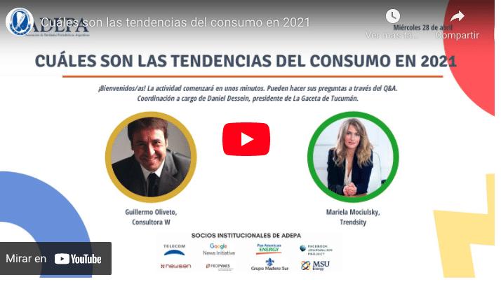 Tendencias de consumo en 2021: qué hábitos deberán atender los medios en el segundo año de pandemia 1
