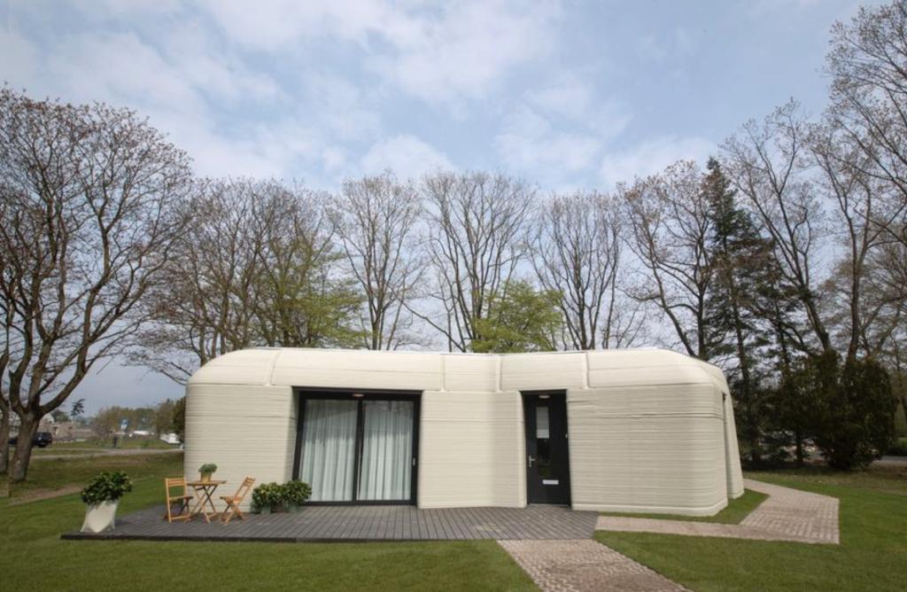 Casas 3D: una empresa local avanza en el diseño de una máquina que podría imprimir casas de hasta 70 metros en 50 horas 1